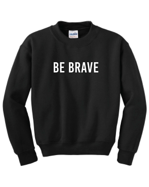 Picture of CFA Youth Crewneck Sweatshirt (Be Brave)