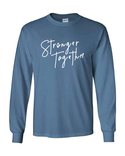 Picture of CFA Blue Ultra Long Sleeve Tee (Stronger Together)